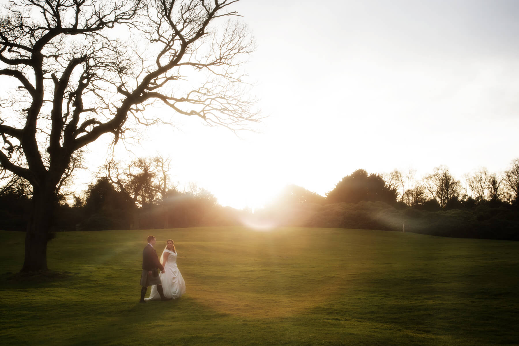 Dundas Castle Winter Wedding