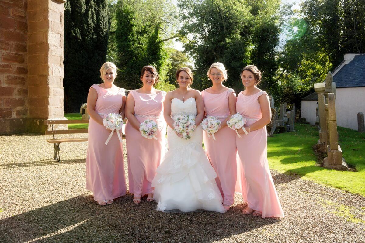 Auchenblae Church Wedding Photography