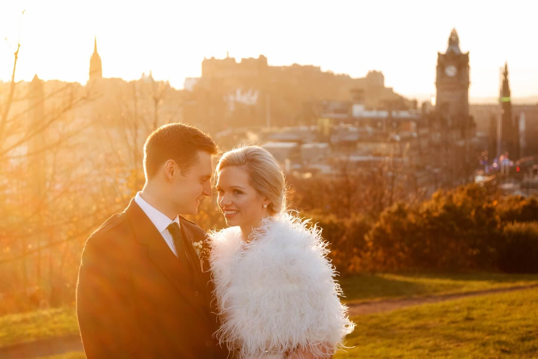 Calton Hill Wedding Photography
