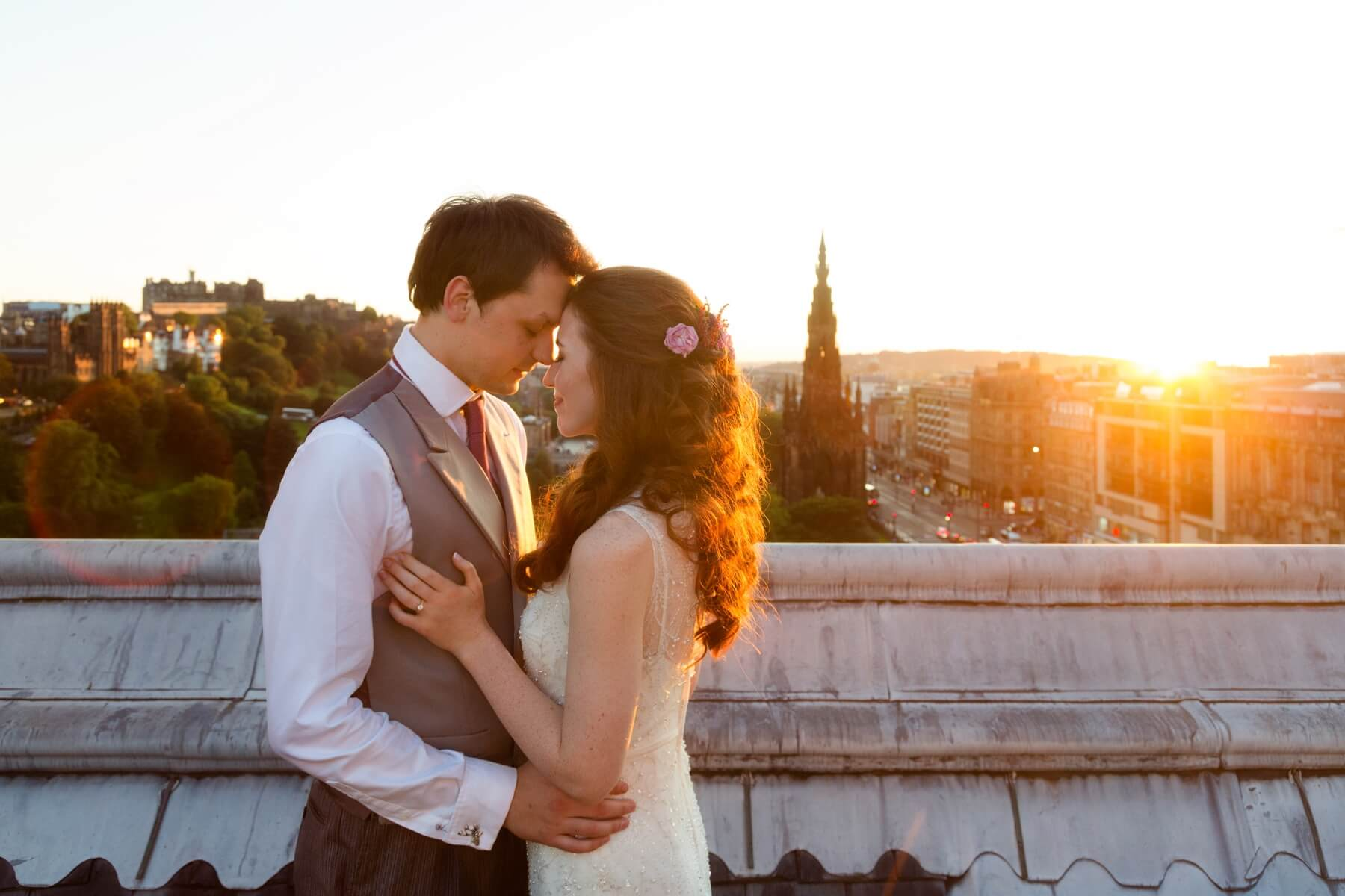 Balmoral Hotel Wedding Photography