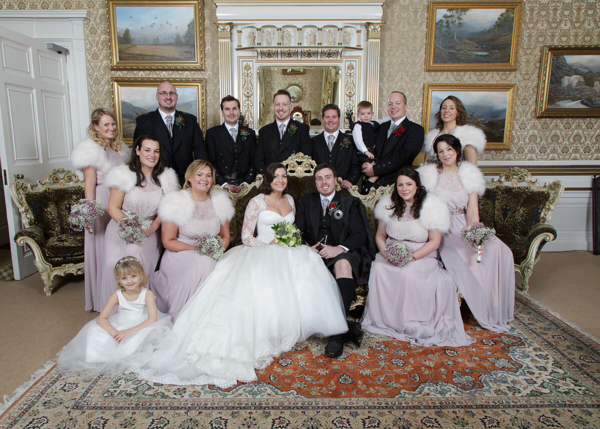 Bridal Party Photographs