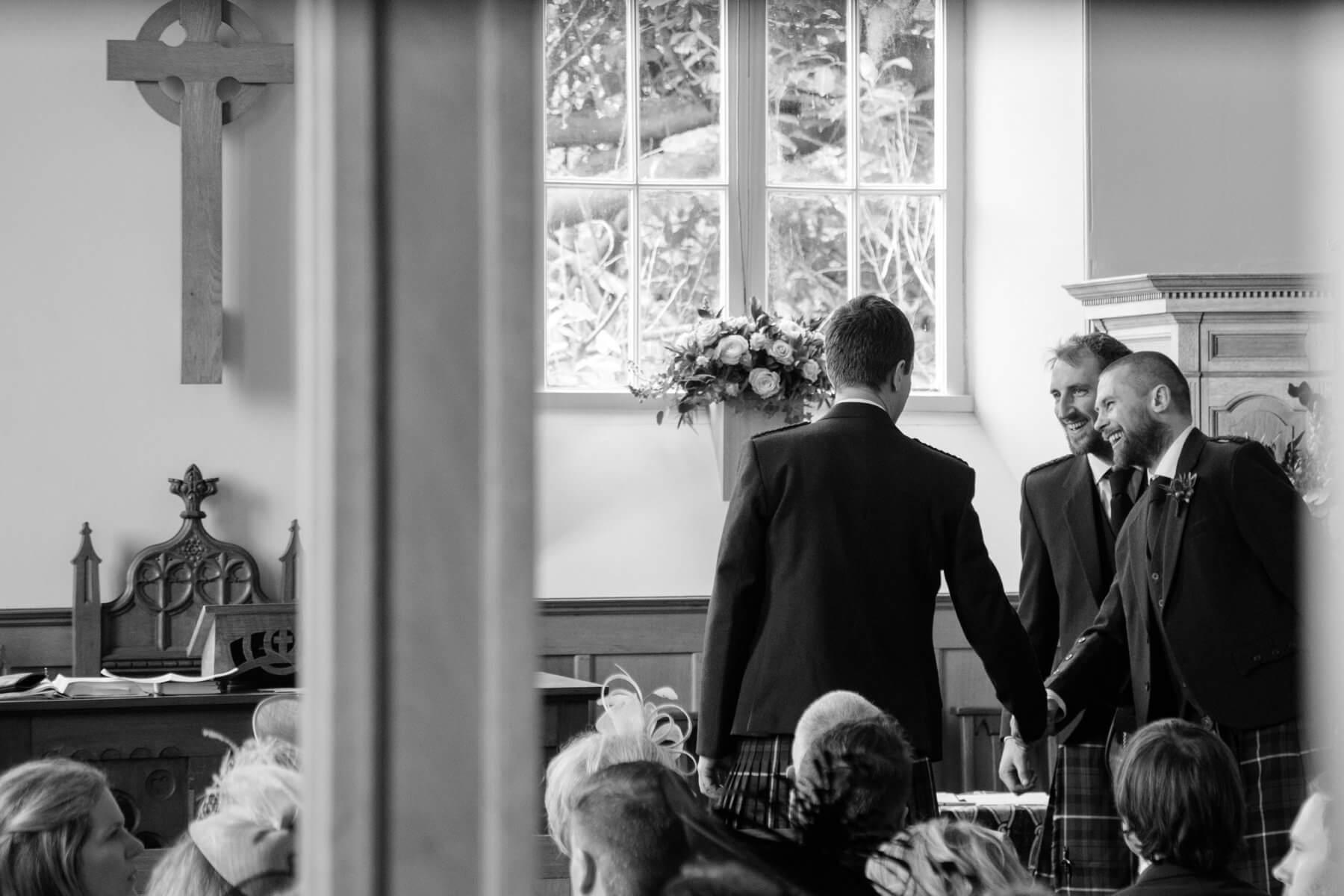 Kemback Church Wedding