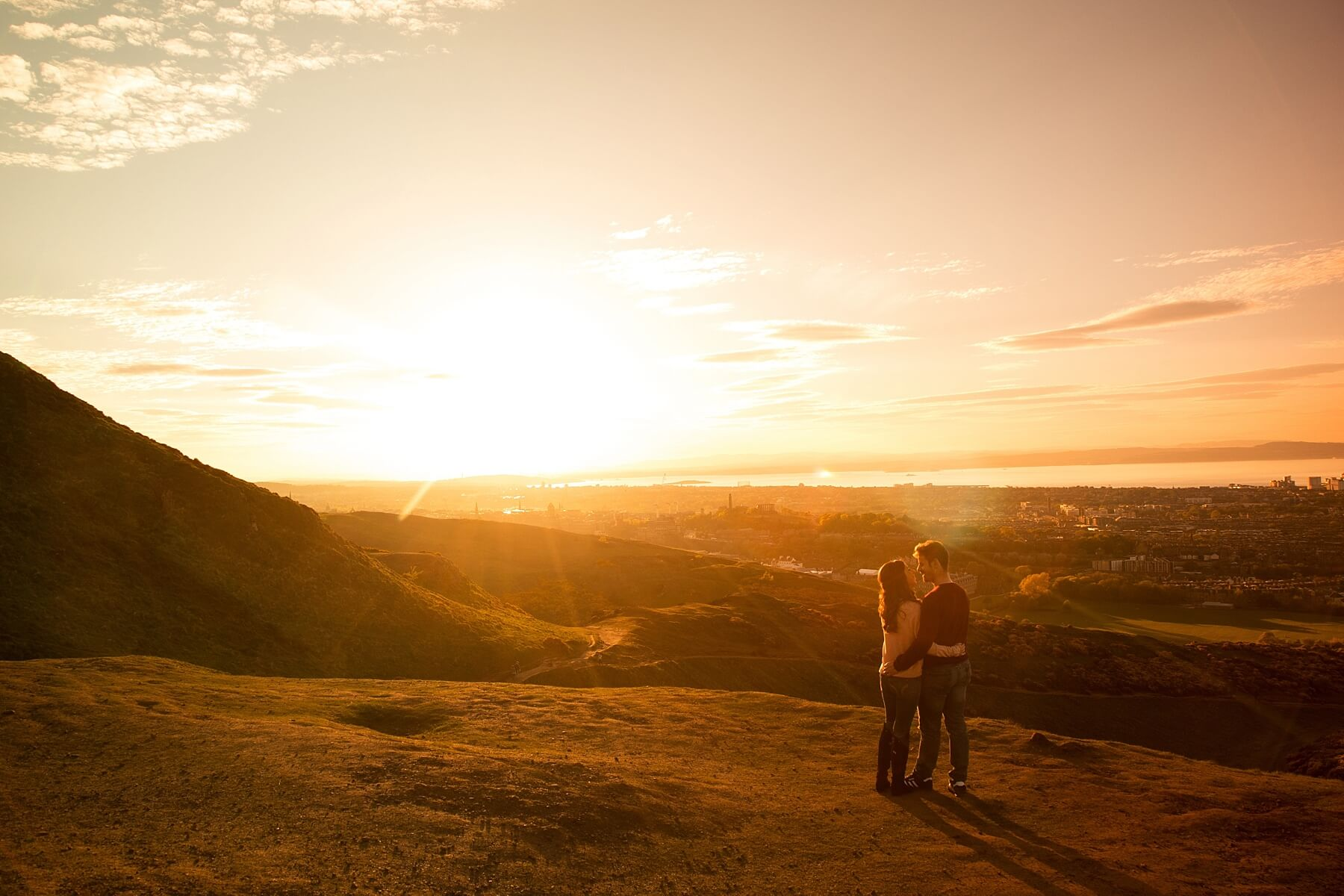 Edinburgh Engagement Photoshoot