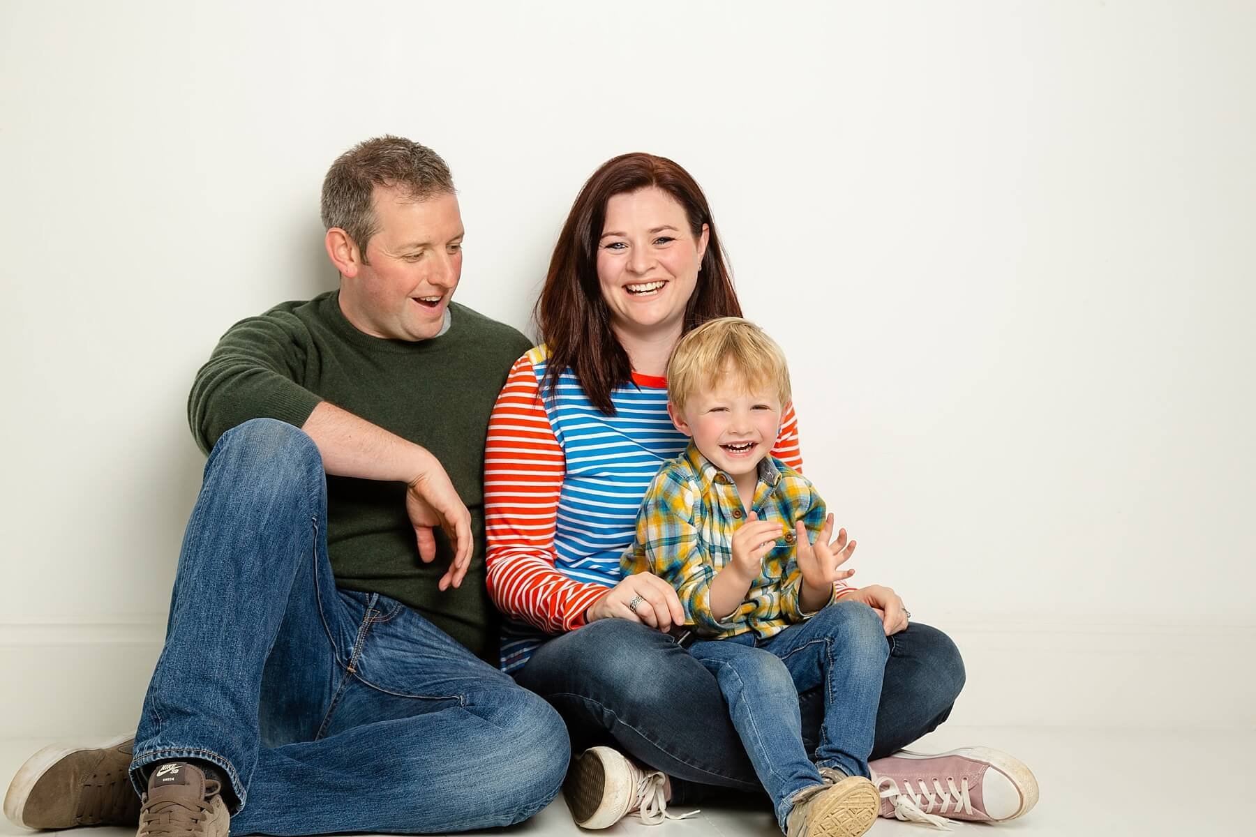relaxed family photography edinburgh
