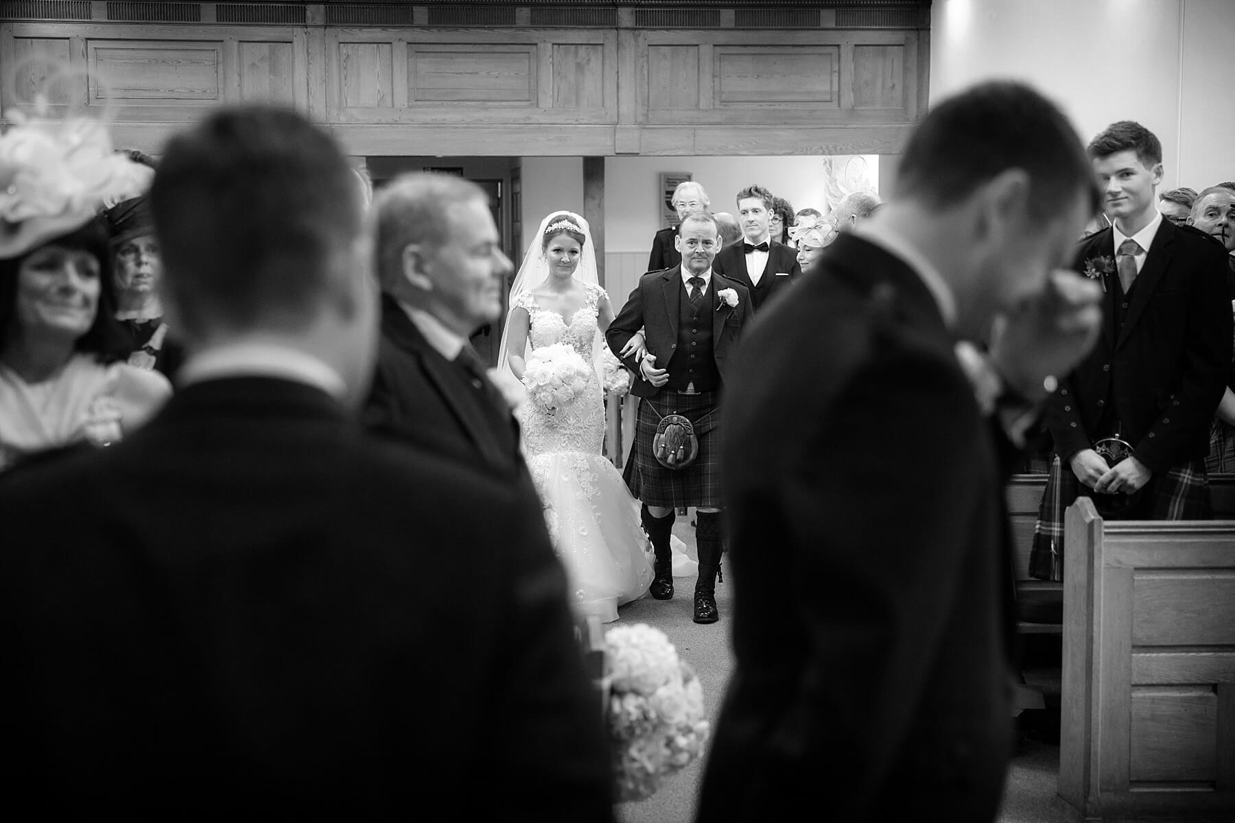 Dirleton Kirk Wedding