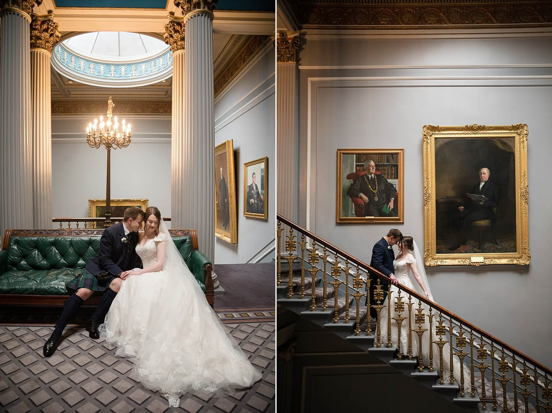 Signet Library Wedding Photographer