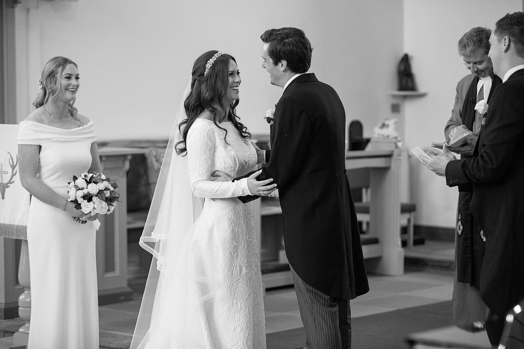 Canongate Kirk Wedding