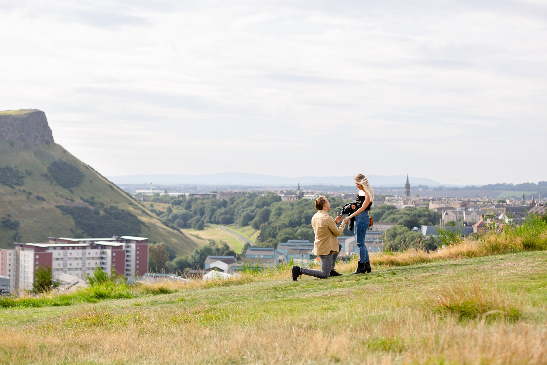 Marriage Proposal Photoshoot Edinburgh