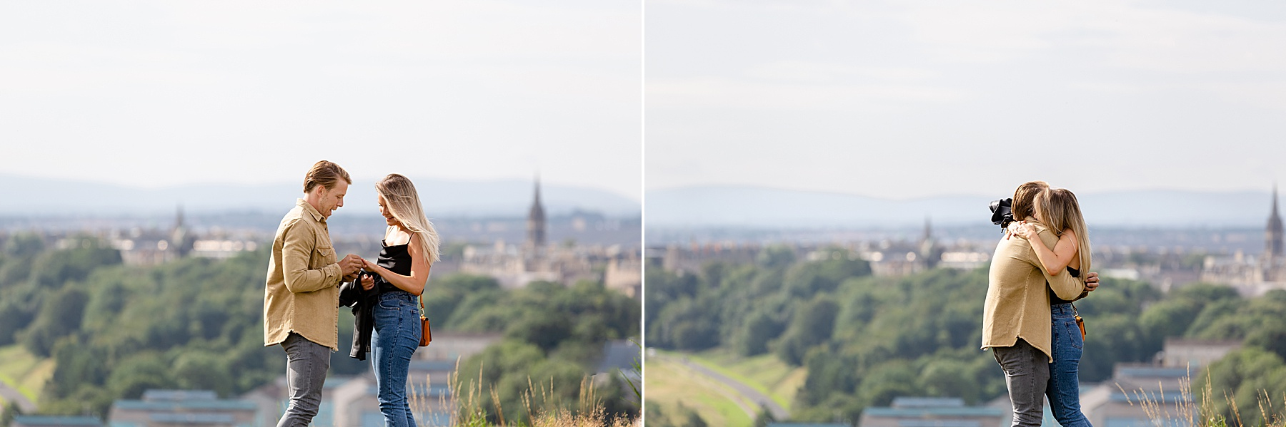 Edinburgh Proposal Photoshoot