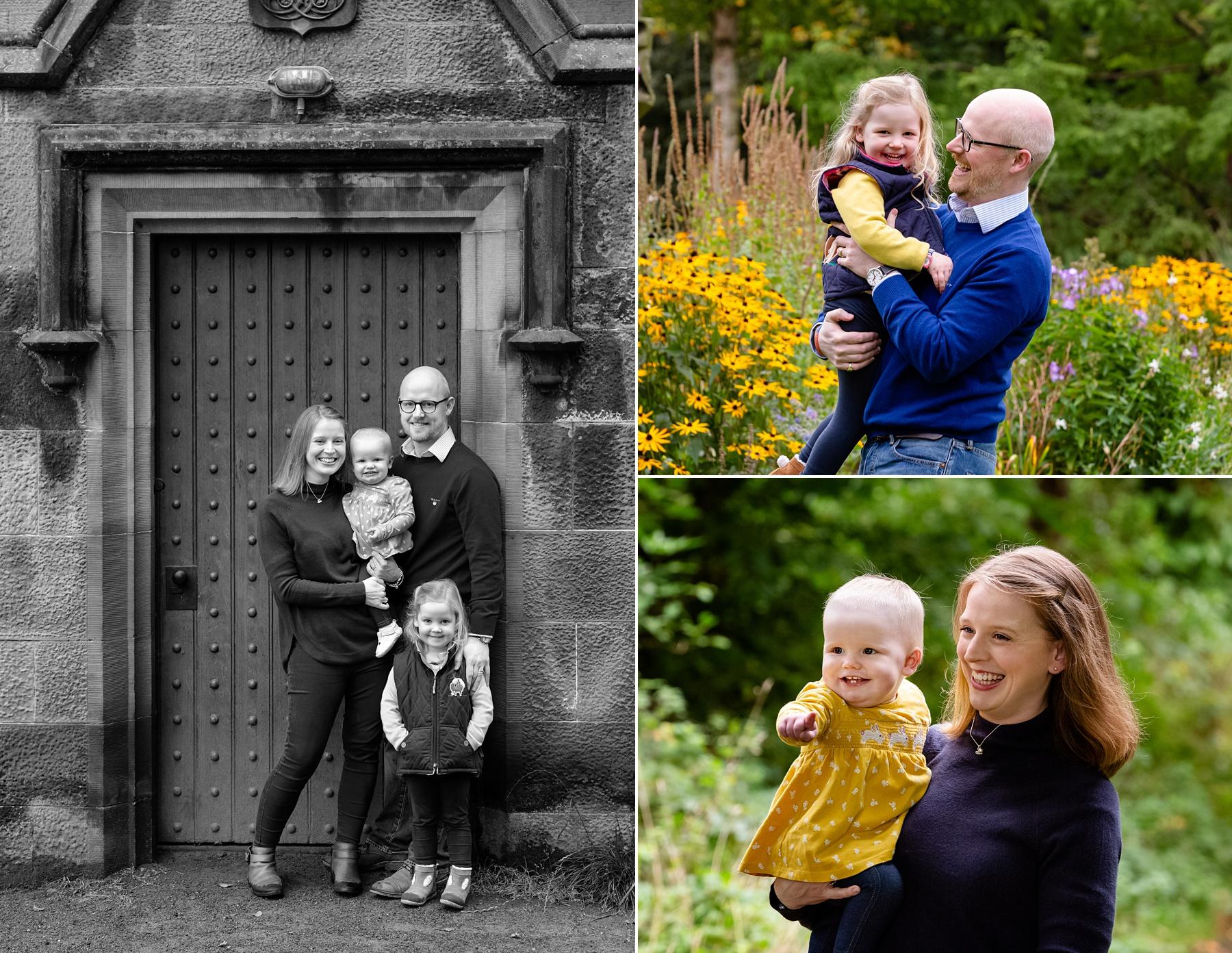 Outdoor Family Photoshoot Edinburgh