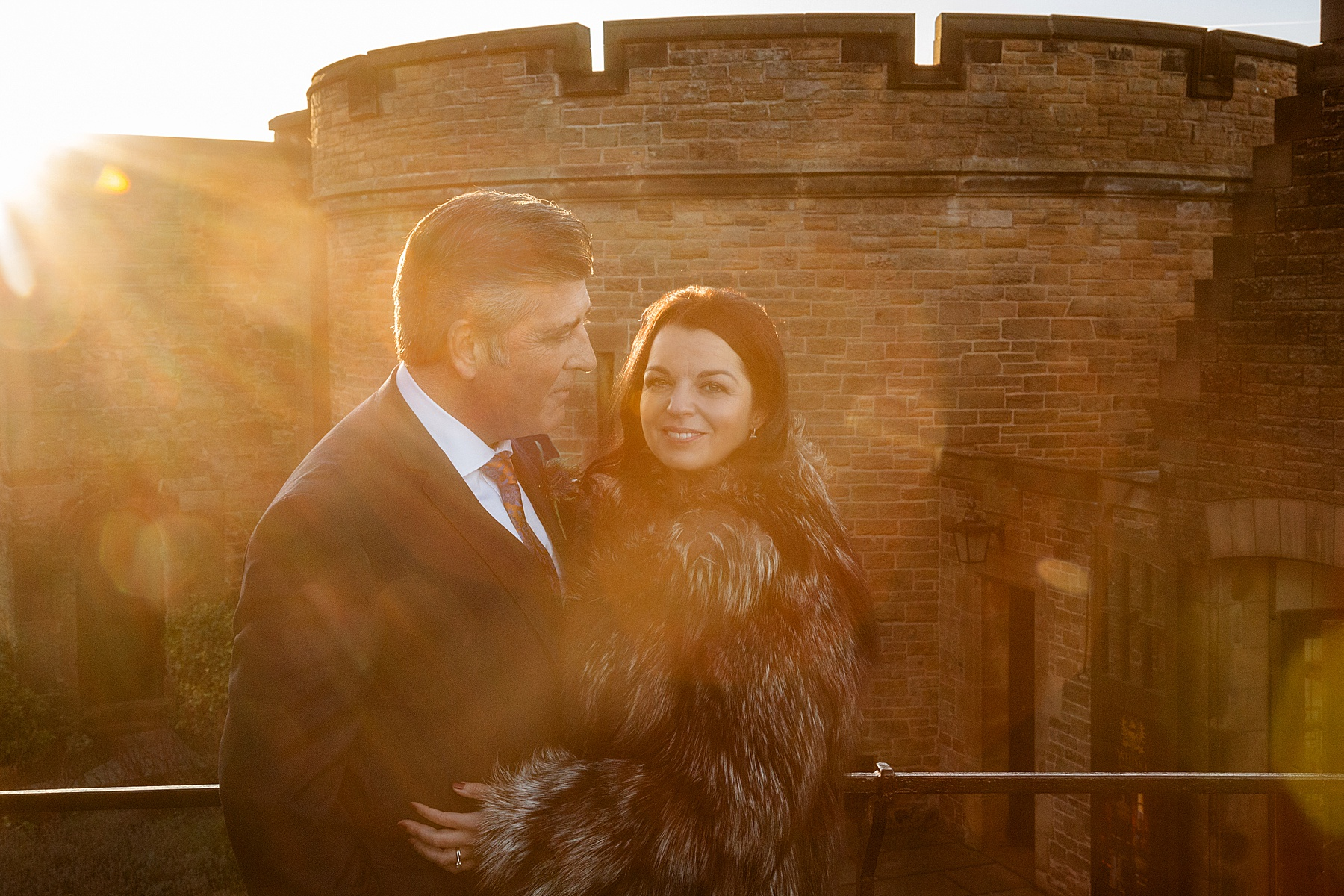 Edinburgh Castle Wedding Photography