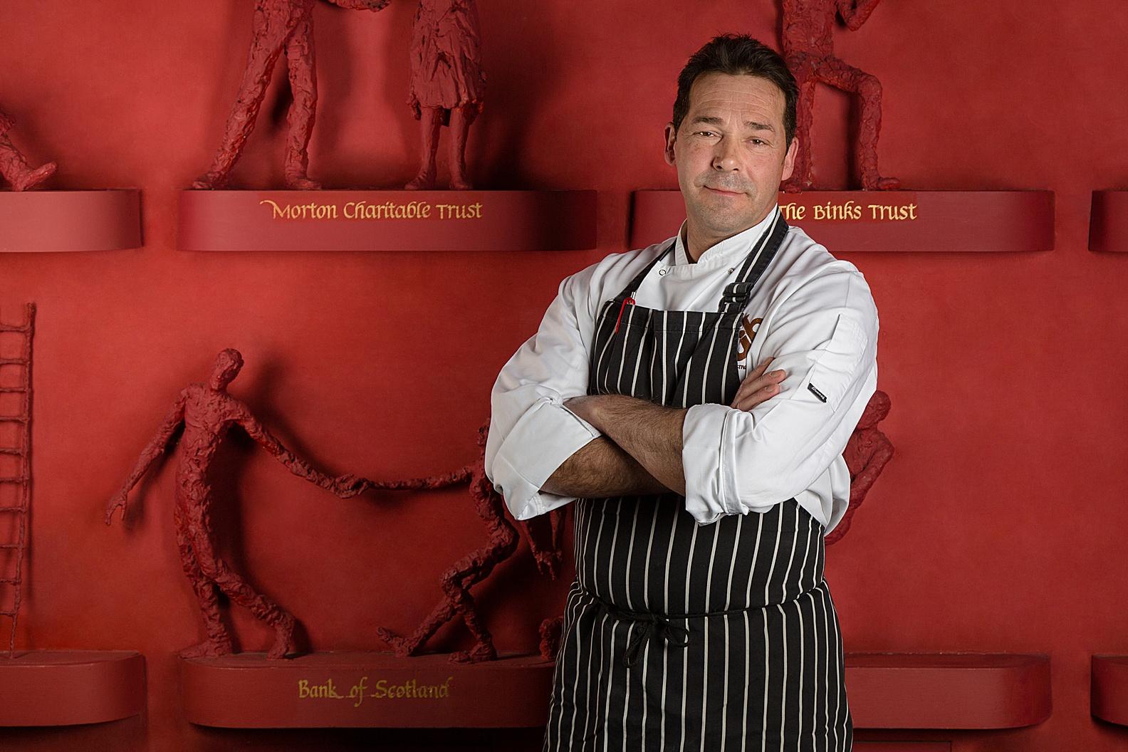 Chef Headshots Edinburgh