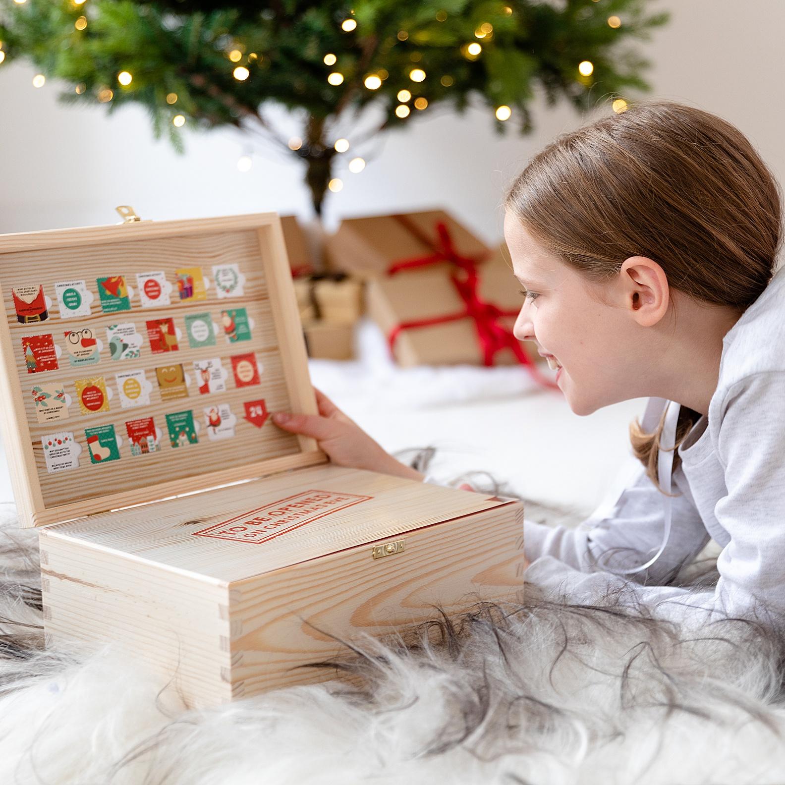 Christmas Eve box product photography Edinburgh