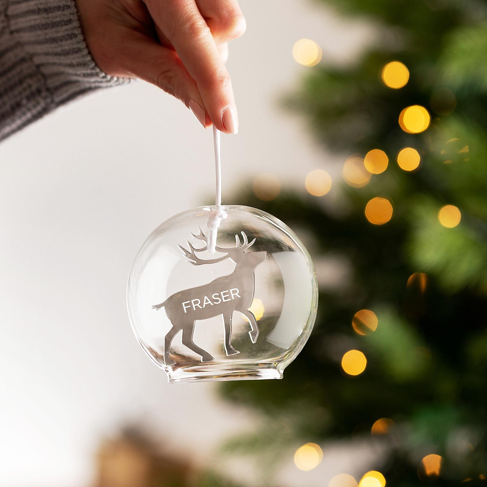 Christmas bauble product photography Edinburgh