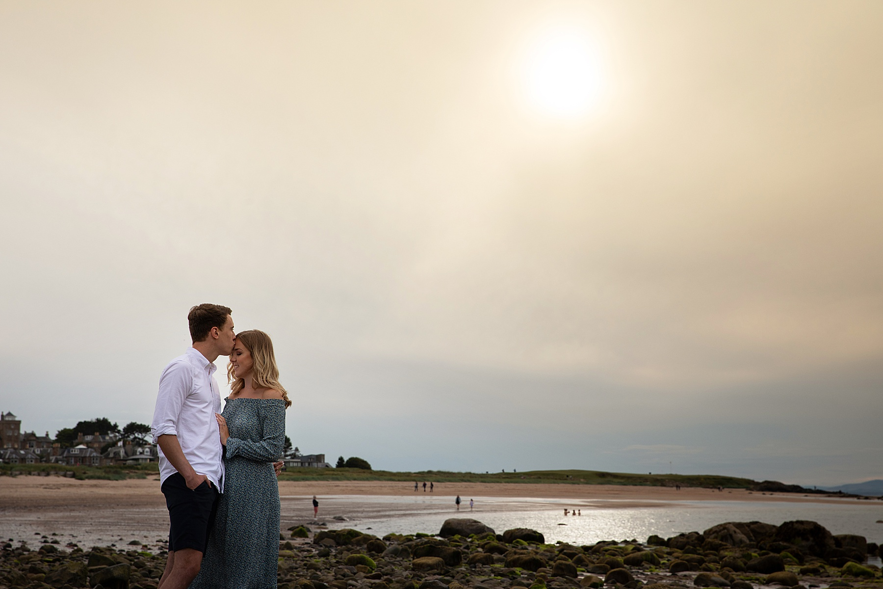 north berwick engagement shoot
