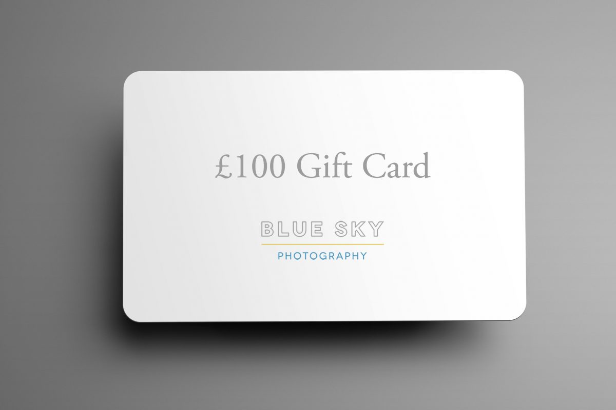 Blue Sky Photography gift voucher