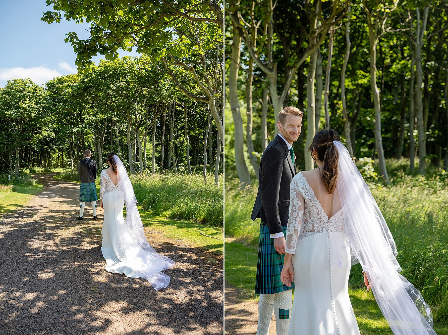 Green Craig House Wedding